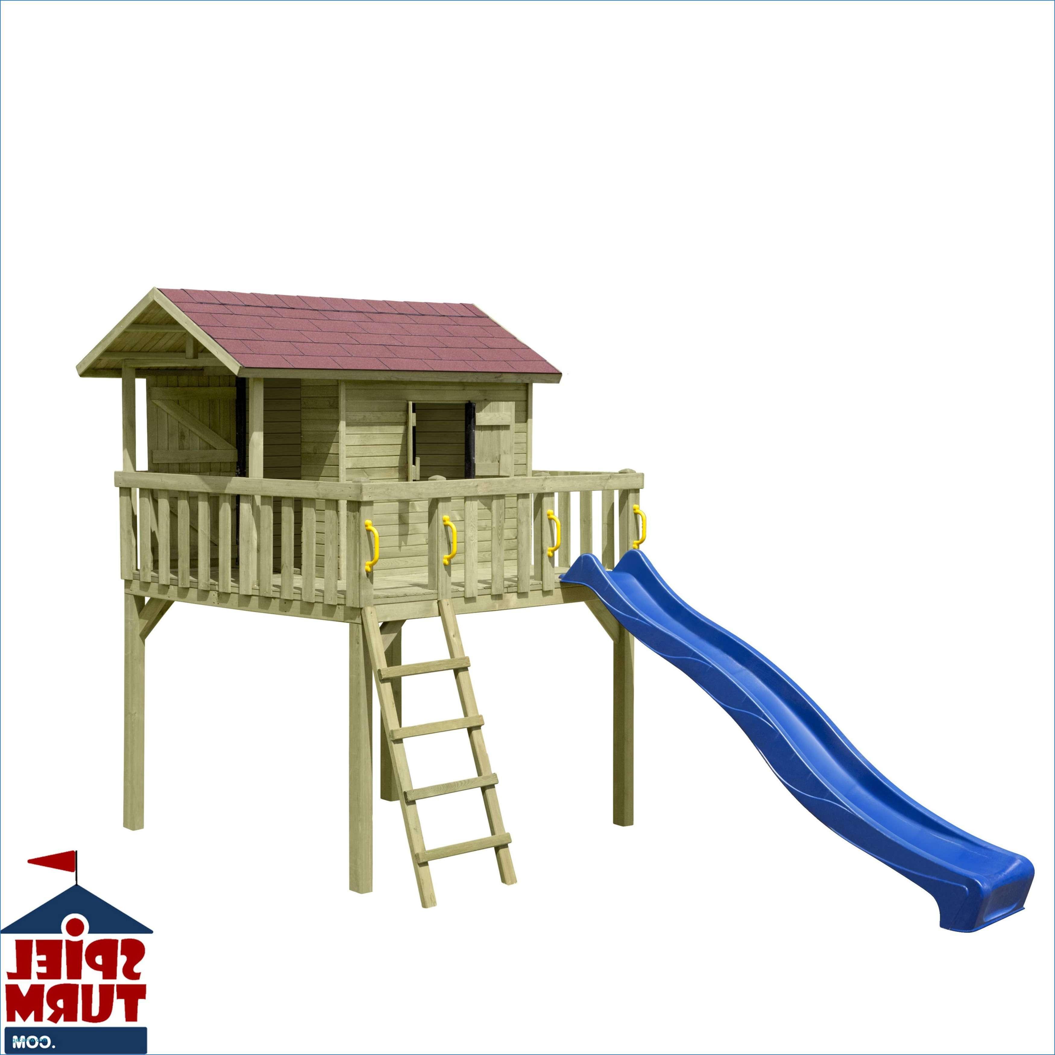 Spielhaus Garten Kunststoff  26 Einzigartig Garten Spielhaus Mit Rutsche