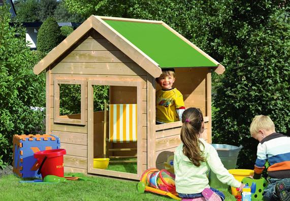 Spielhaus Garten Kunststoff  Kinderspielhaus OBI