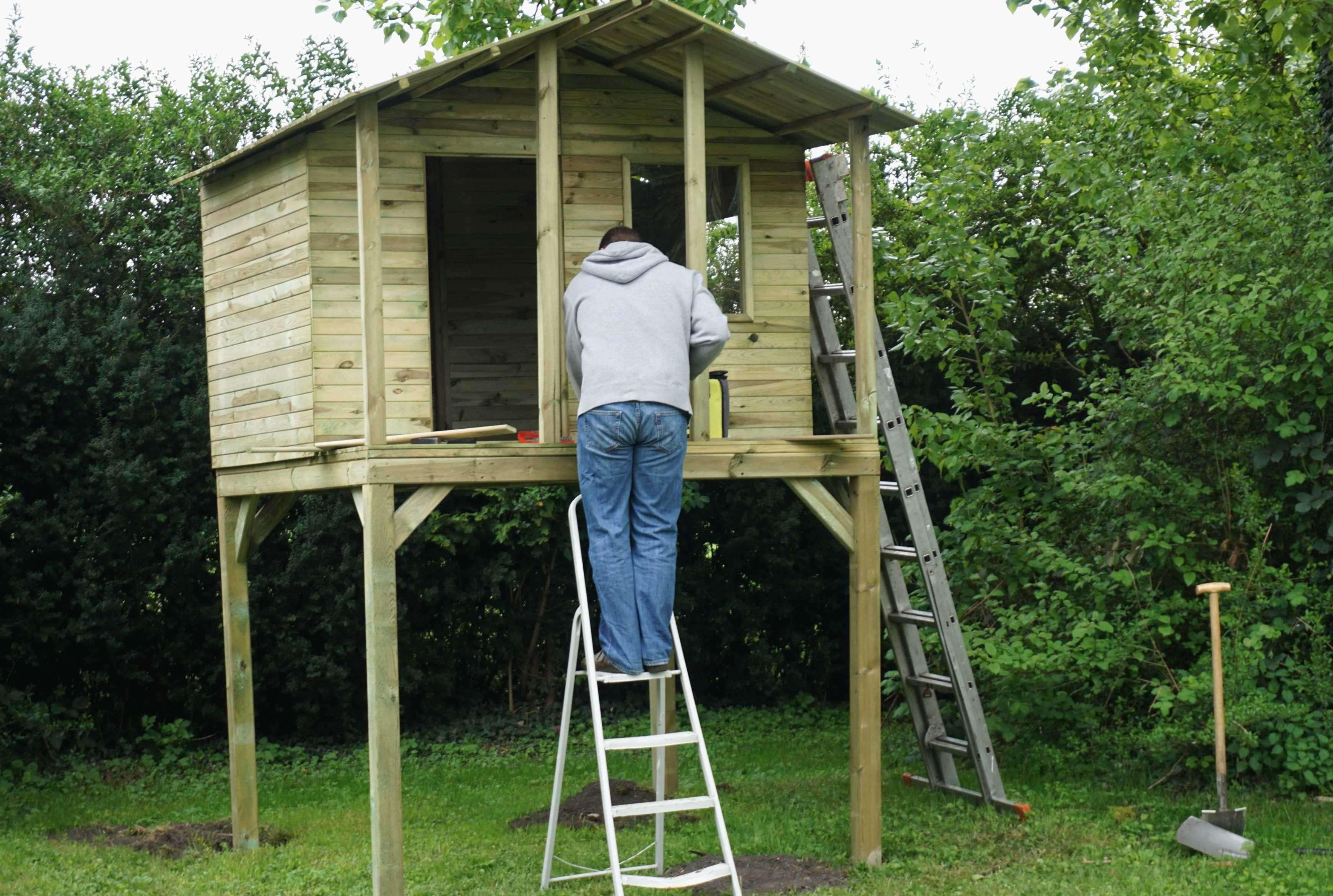 Spielhaus Garten Kunststoff  28 Das Beste Von Kinder Spielturm Garten