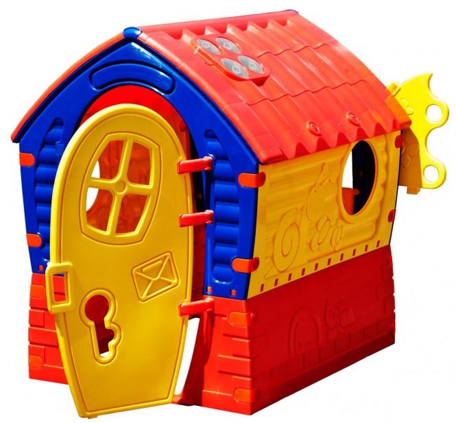 Spielhaus Garten Kunststoff  Spielhaus für den Garten aus Kunststoff MIFUS Family