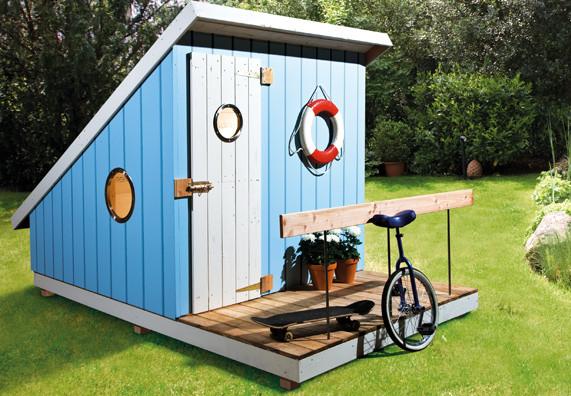 Spielhaus Garten Kunststoff  OBI Spielhaus Berater Spielhaus für den Garten