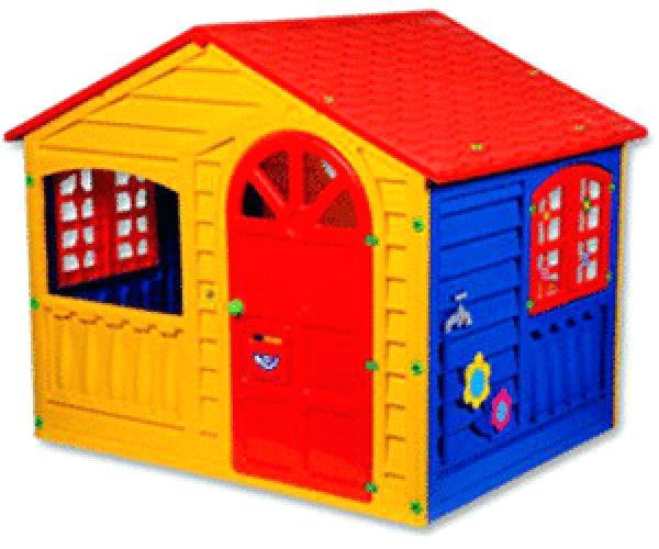 Spielhaus Garten Kunststoff  Spielhaus Kinder Kinderspielhaus Holz Garten Selber Bauen