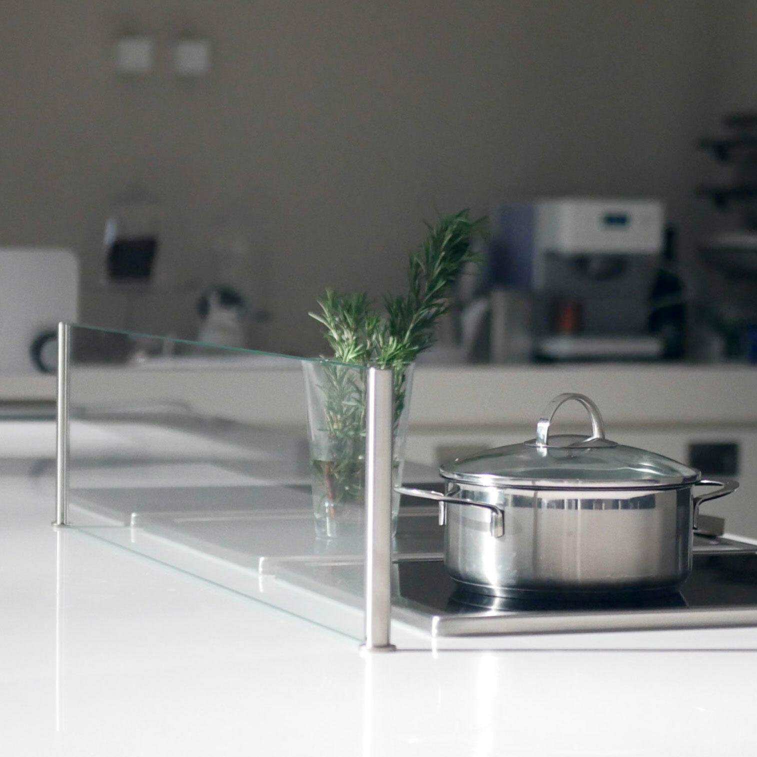 Spritzschutz Küche  SPRITZSCHUTZ PROTECT SPRITZSCHUTZ Küche Herd Glas