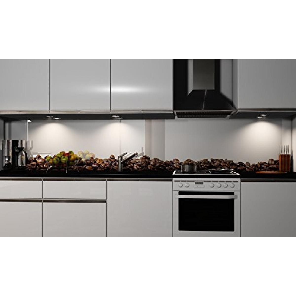 Spritzschutz Küche  Küchenrückwand Folie selbstklebend Kaffee Klebefolie in