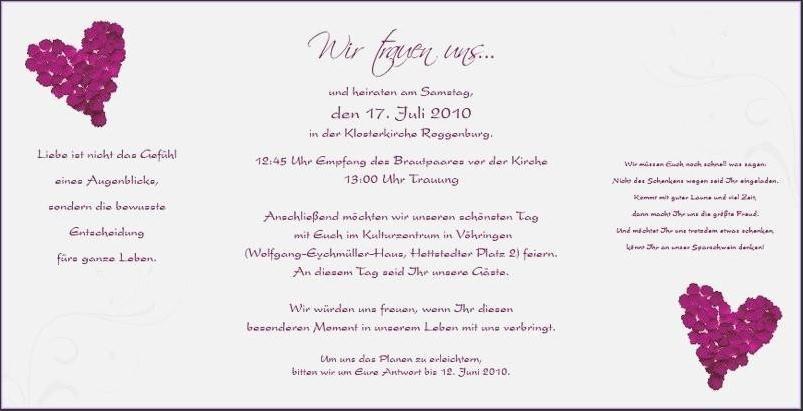 Sprüche Einladung Hochzeit  Einladung Exzellent hochzeit einladung spruch design