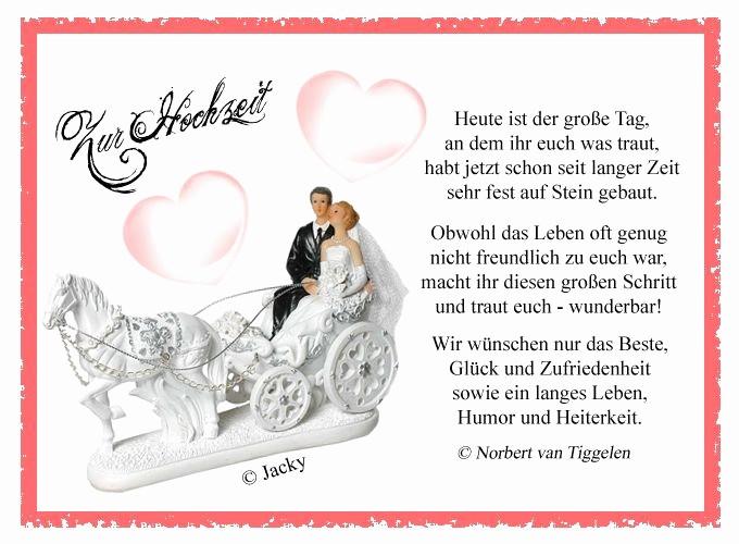 Sprüche Für Hochzeitskarten  Sprüche Für Hochzeitskarten Glückwünsche Elegant Die