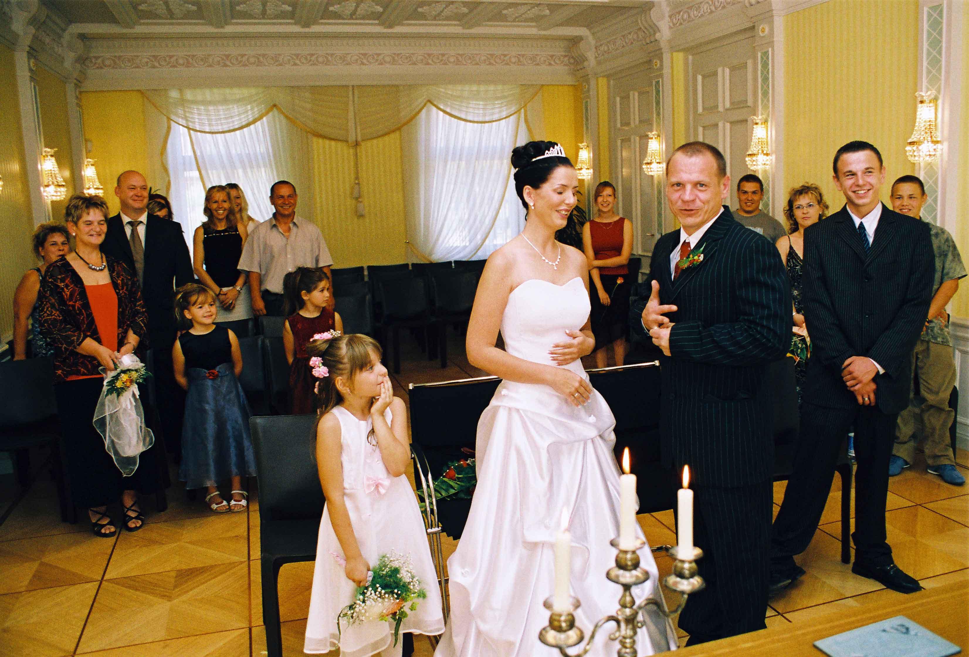 Standesamt Hochzeit  Hochzeitsfeier