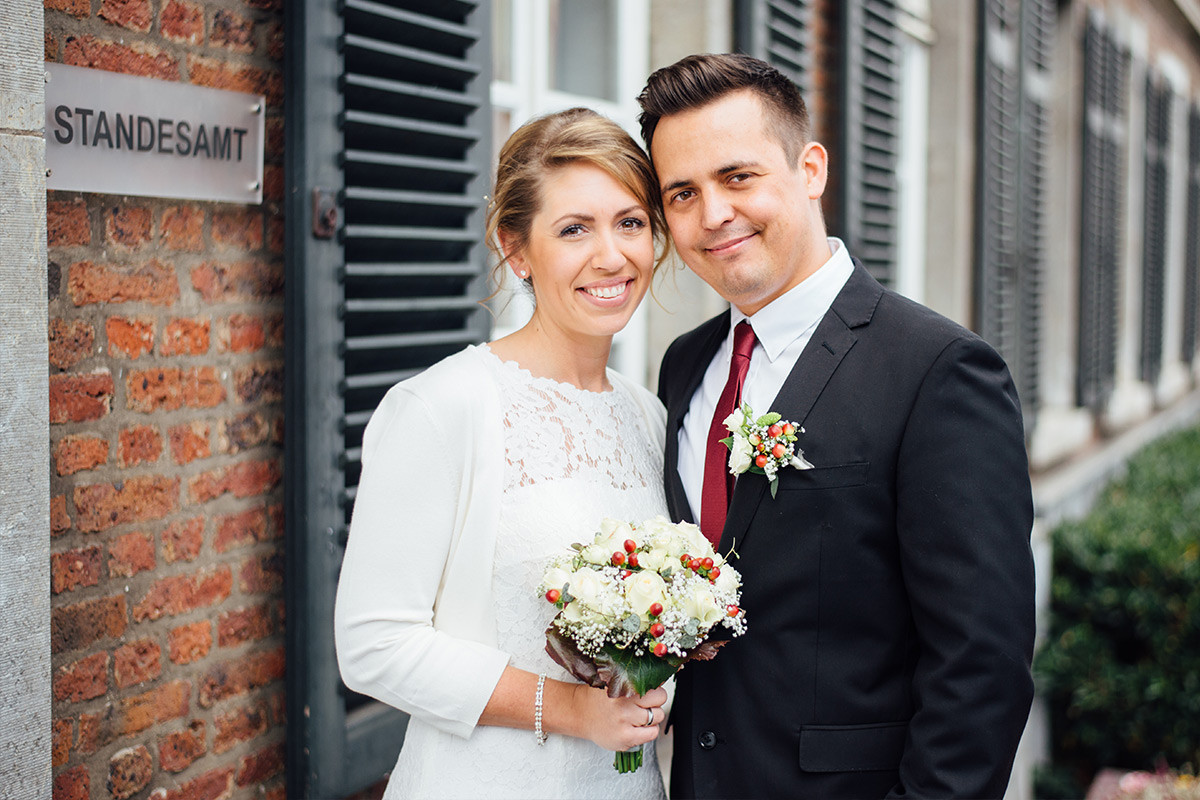 Standesamtliche Hochzeit  Standesamtliche Trauung im historischen Rathaus in Stolberg