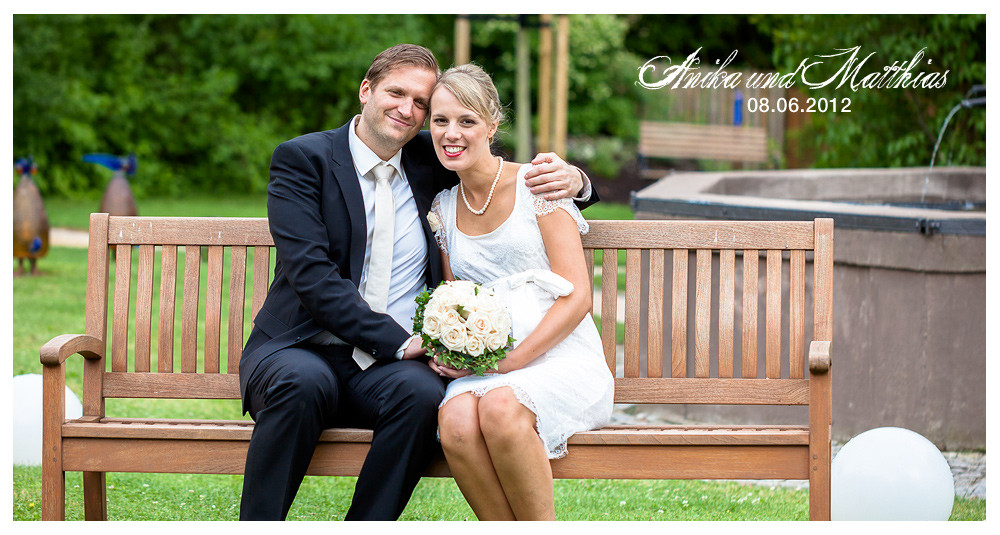 Standesamtliche Hochzeit  Standesamtliche Hochzeit Anika & Matthias Haigerloch