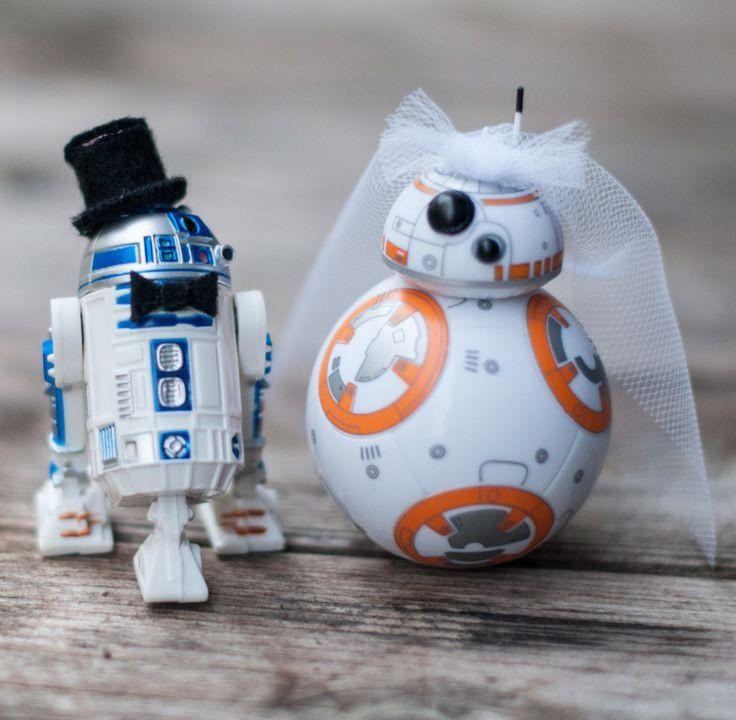 Star Wars Hochzeit  15 wonderfully nerdy wedding cake toppers