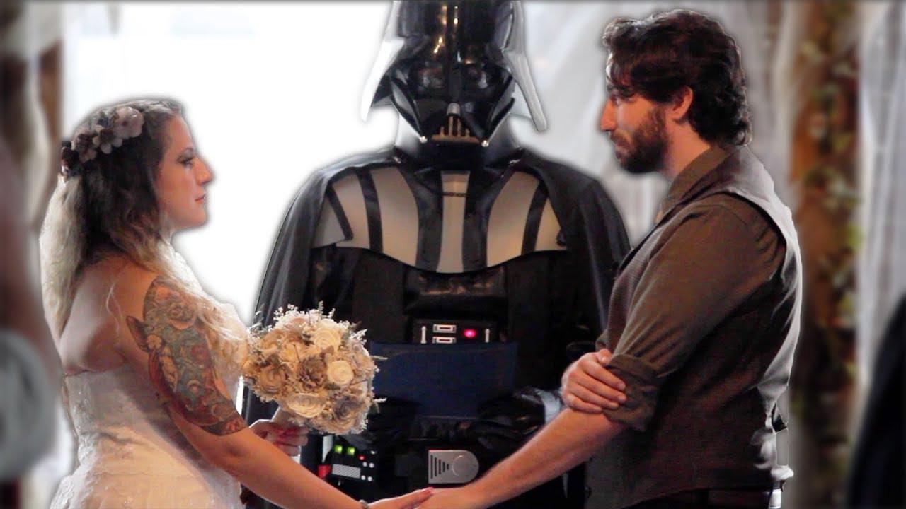 Star Wars Hochzeit  Our Star Wars Wedding