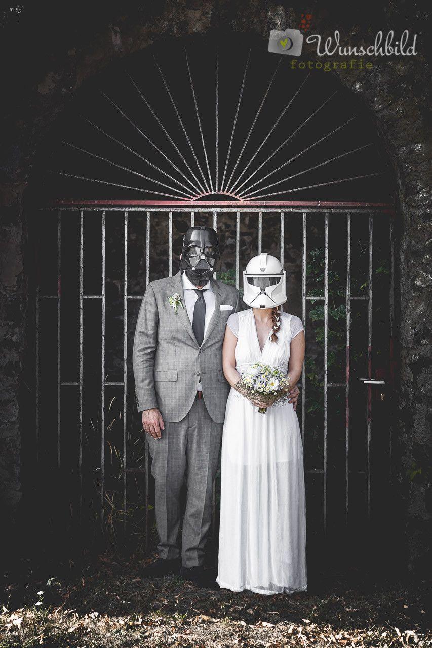 Star Wars Hochzeit  Hochzeit StarWars Hochzeitsfotograf Schloss Philippsruhe
