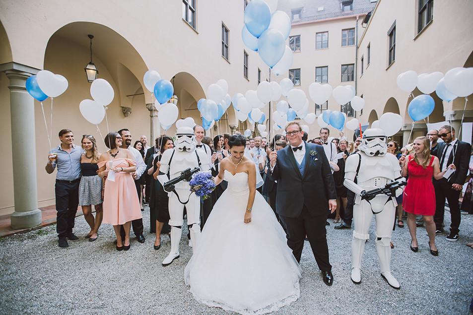 Star Wars Hochzeit  Star Wars Motto Hochzeit