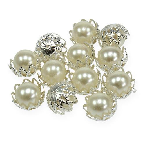 Streudeko Hochzeit  Hochzeit Streudeko Perlen Creme Ø13mm 48St kaufen in Schweiz