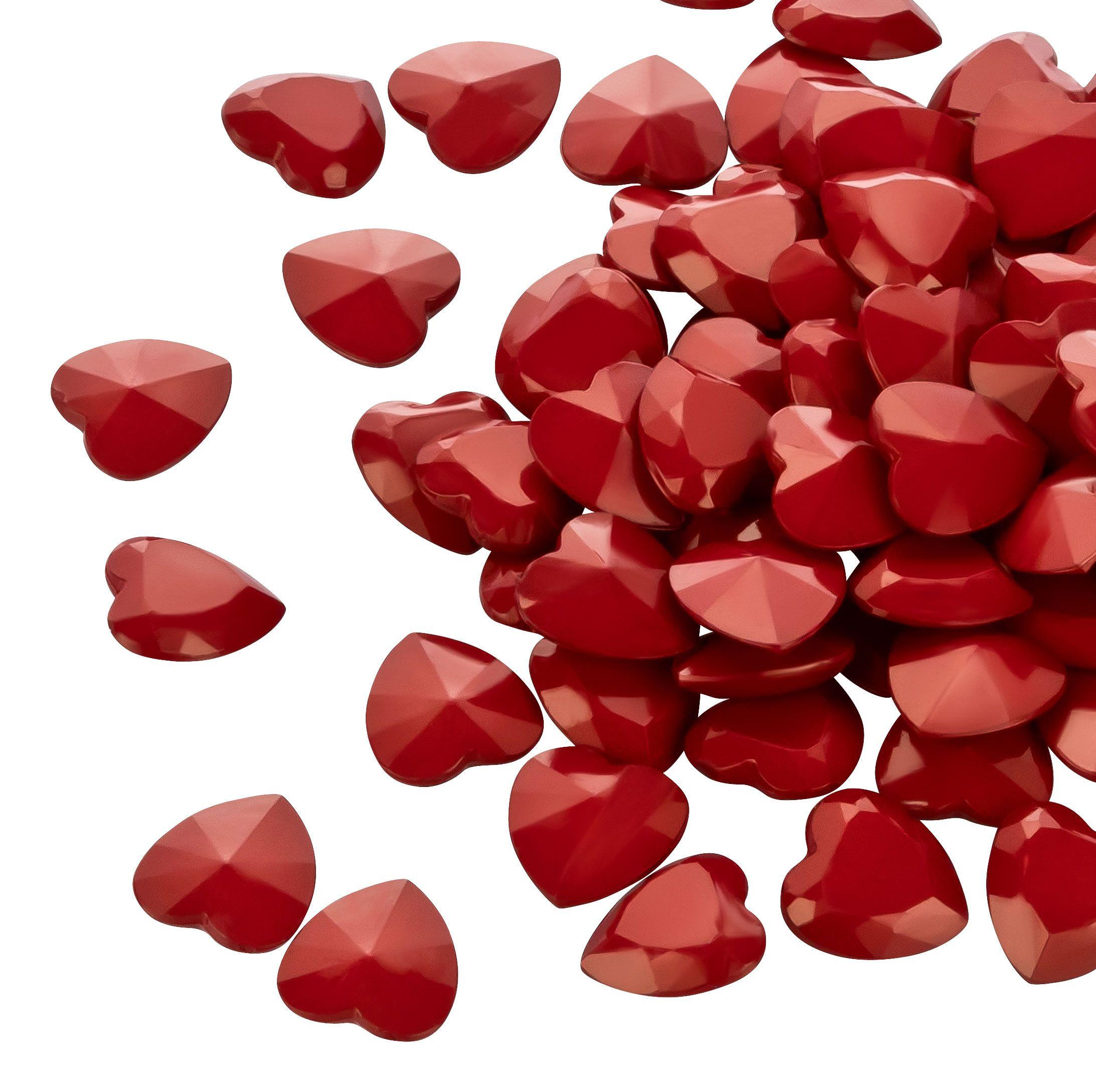 Streudeko Hochzeit  100 rote Herzen Streudeko Hochzeit