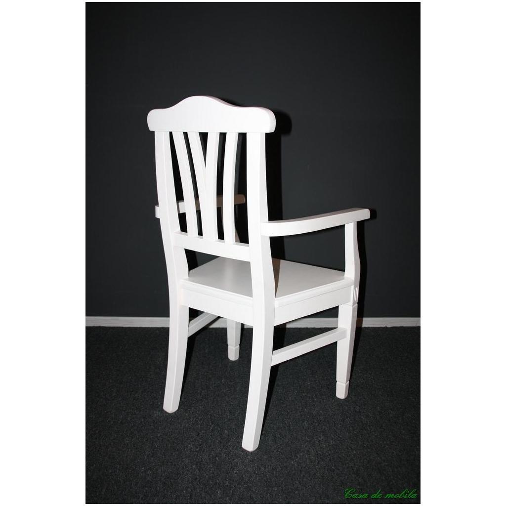 Stuhl Mit Armlehne Weiß  stuhl mit armlehne weiß 5