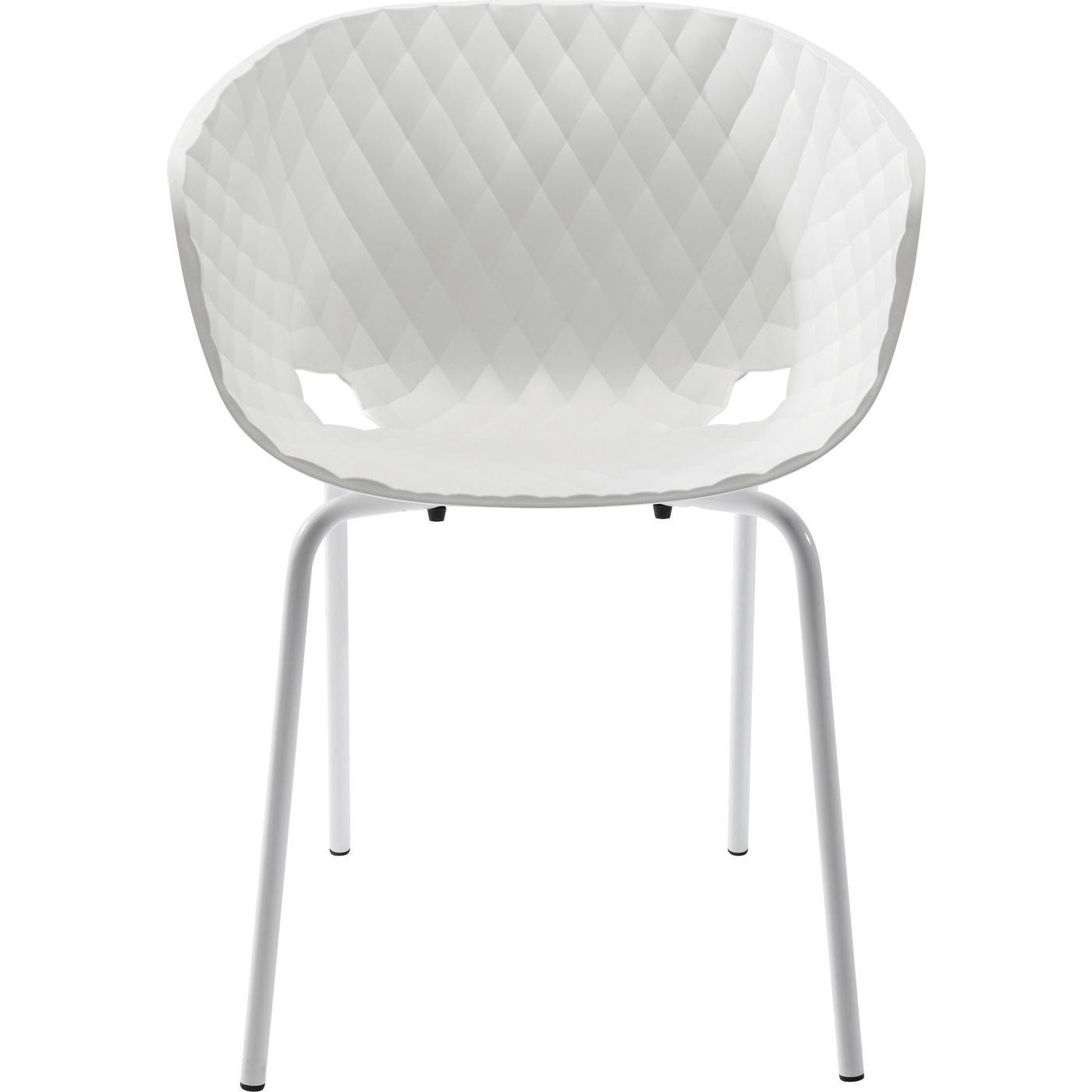 Stuhl Mit Armlehne Weiß  Stuhl mit Armlehne Radar Bubble Weiß online kaufen