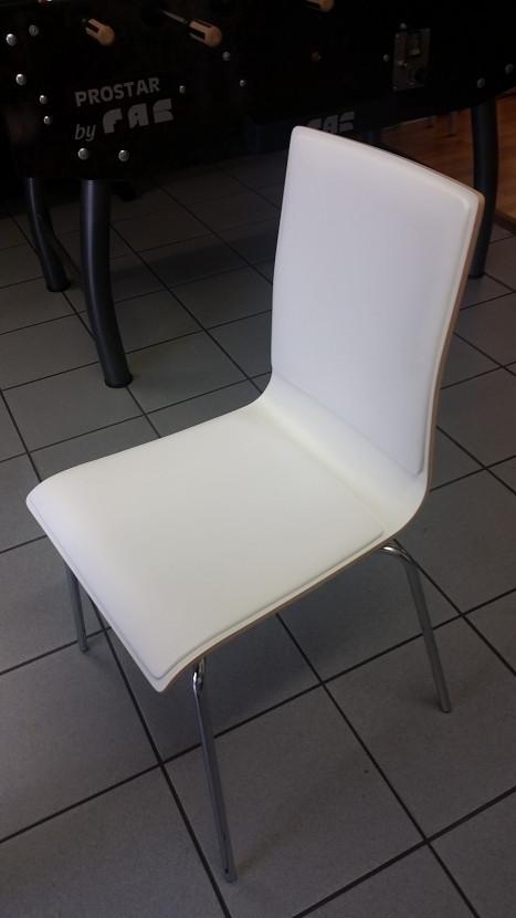 Stuhl Mit Armlehne Weiß  Snowflake Stuhl mit Armlehne gepolstert weiß