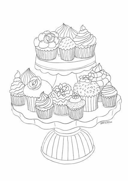 Süßigkeiten Ausmalbilder  ausmalbilder suessigkeiten dekoking 6