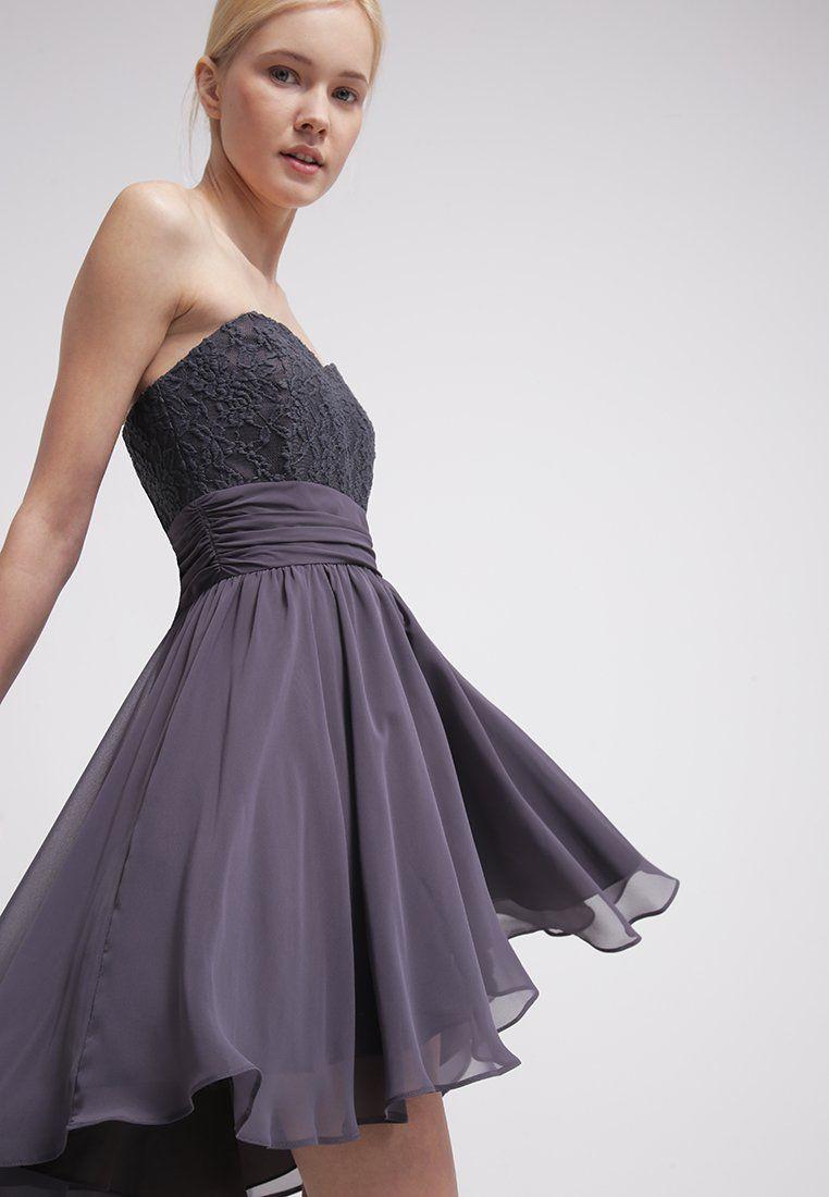 Swing Kleider  Hübsches Kleid in Grau von Swing Dieses Kleid passt