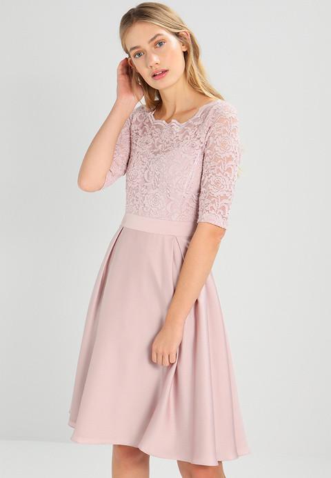Swing Kleider  Swing Cocktailkleid festliches Kleid rosa Zalando