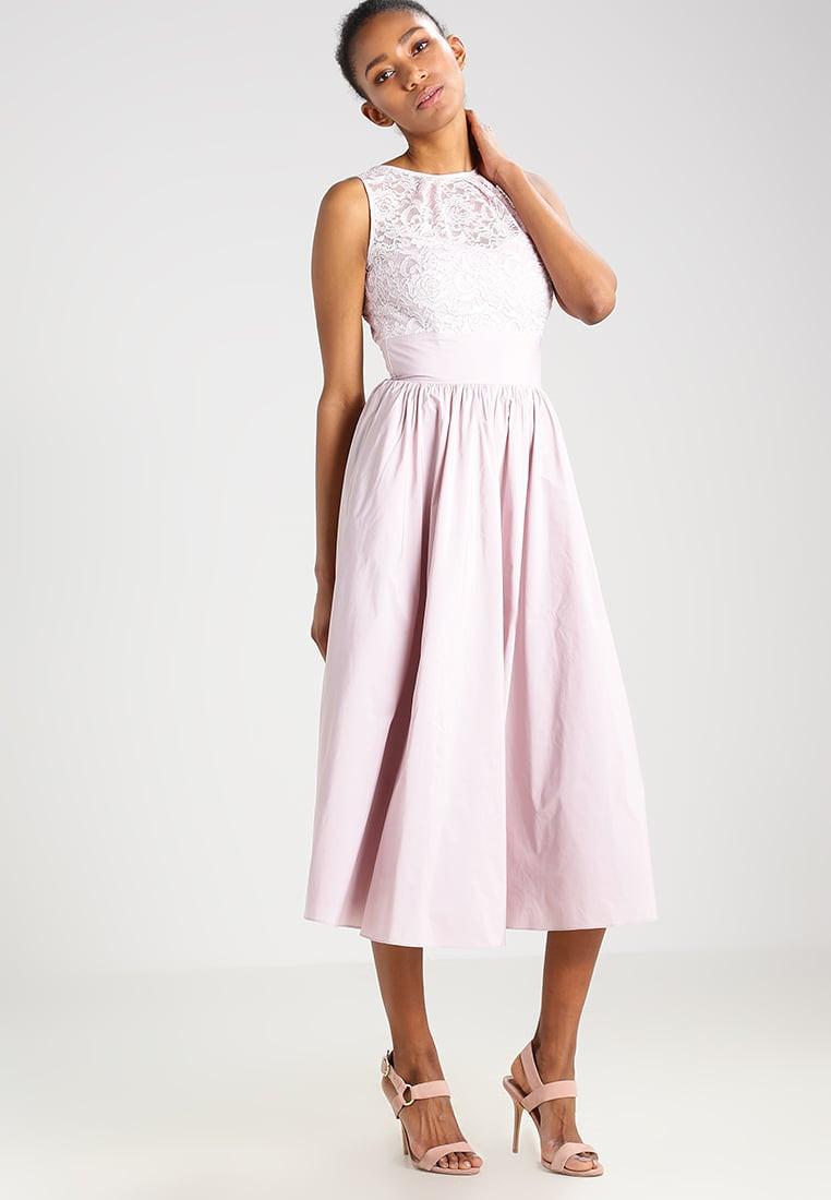 Swing Kleider  Swing cocktailkleid festliches kleid pink damen