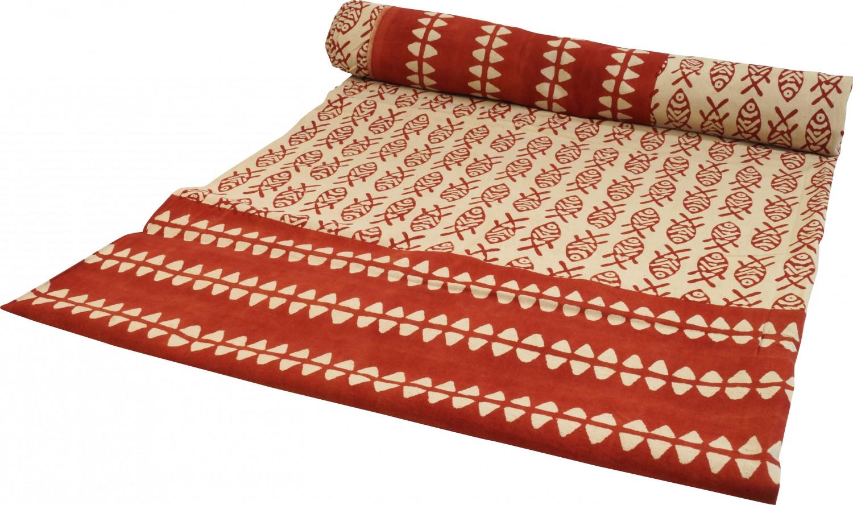 Tagesdecke Bett  Blockdruck Tagesdecke Bett Sofaüberwurf