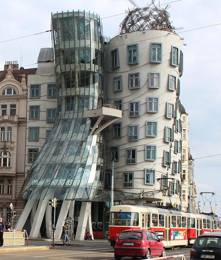 Tanzendes Haus Prag  Prag und sein tanzendes Haus Die Sehenswürdigkeit der