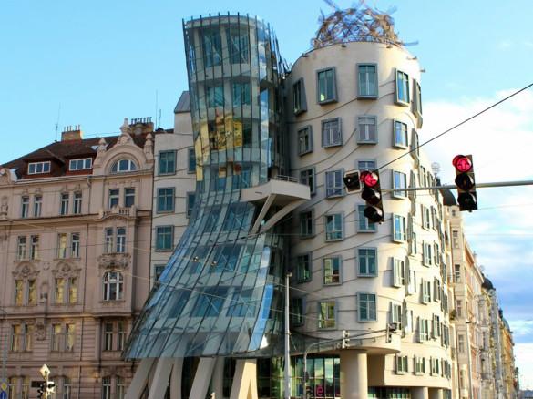 Tanzendes Haus Prag  Städteurlaub in Prag