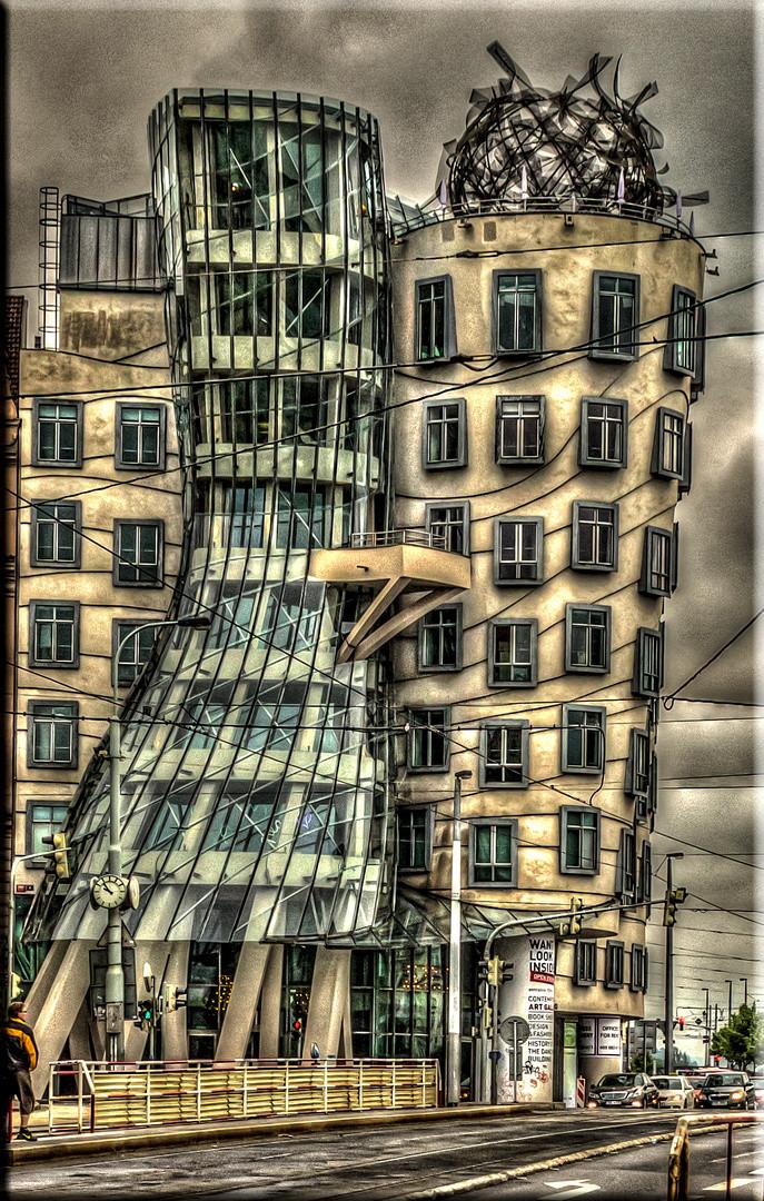 Tanzendes Haus Prag  Prag Tanzendes Haus Foto & Bild