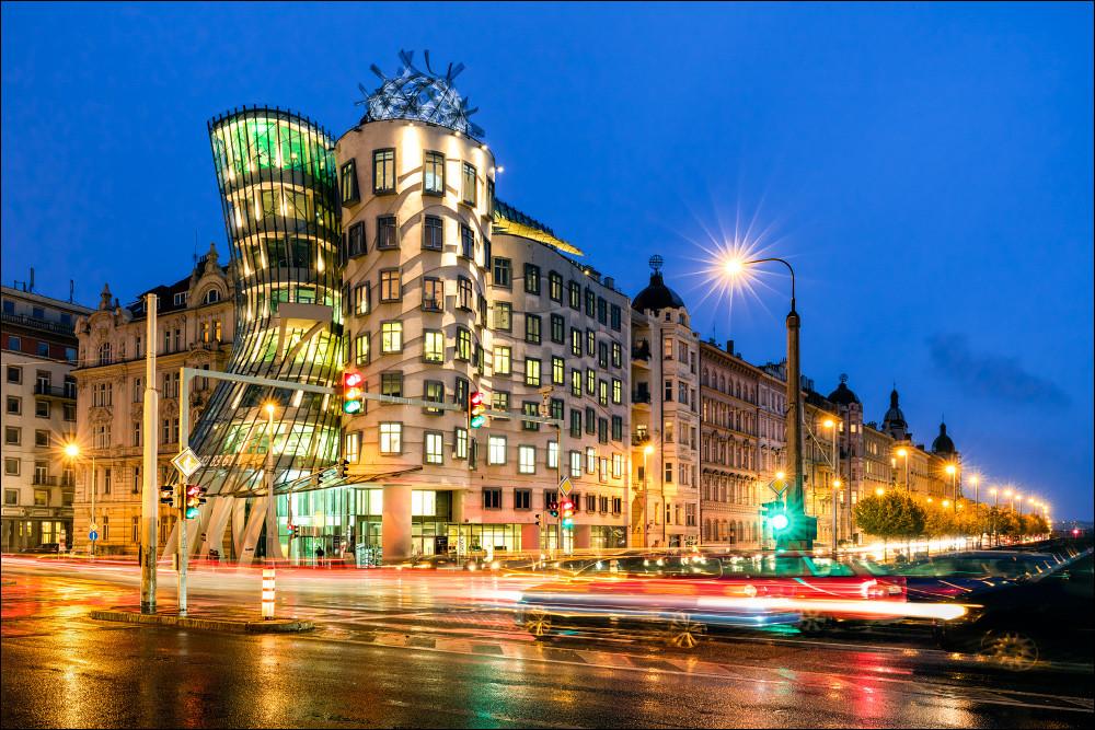 Tanzendes Haus Prag  Tanzendes Haus in Prag Foto & Bild