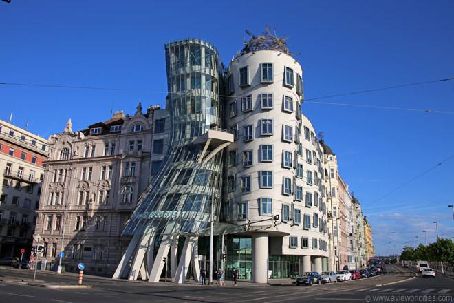 Tanzendes Haus Prag  Tanzendes Haus Prag