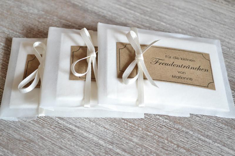 Taschentücher Hochzeit  Gastgeschenke Freudentränen Taschentücher Hochzeit