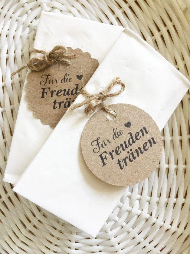 Taschentücher Hochzeit  25 einzigartige Hochzeitsgeschenke Ideen auf Pinterest
