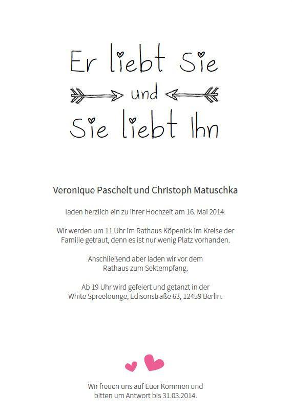 Texte Für Hochzeitskarten  Die besten 25 Hochzeitseinladung Text Ideen auf Pinterest