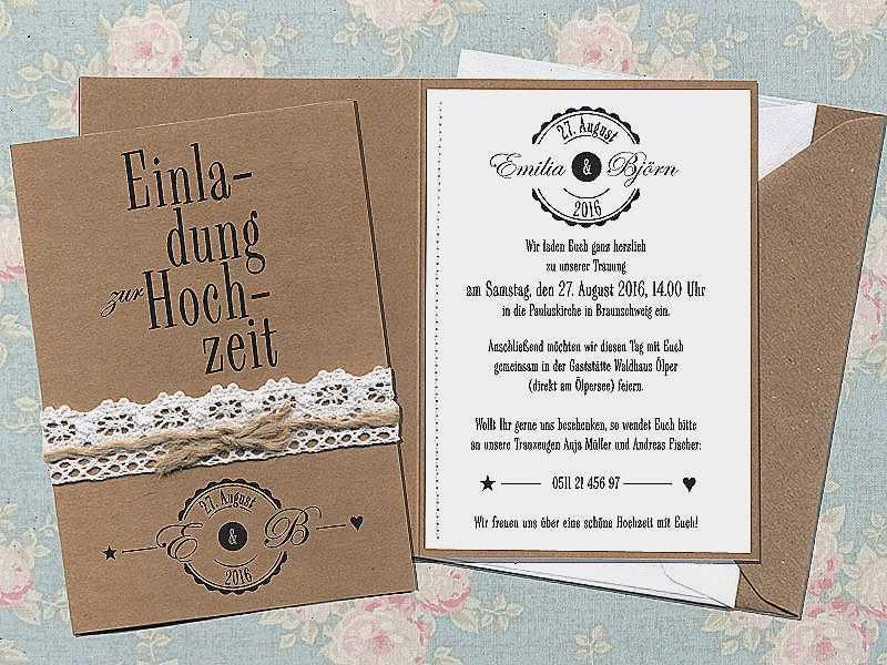 Texte Für Hochzeitskarten  Gratis Einladungen Drucken Schön Einladungen Einladungen