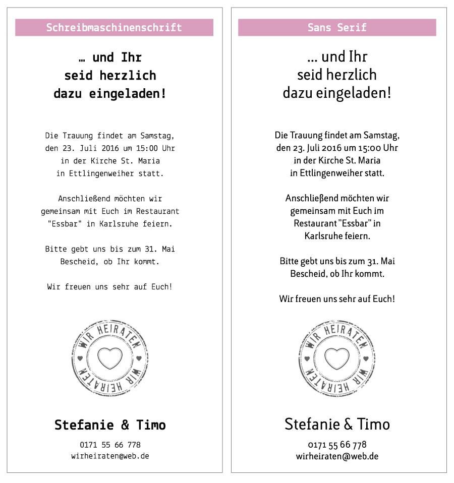 Texte Für Hochzeitskarten  Texte und Schriften Aylando Hochzeitskarten