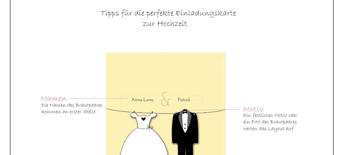 Texte Für Hochzeitskarten  Die perfekte Einladungskarte zur Hochzeit – so geht