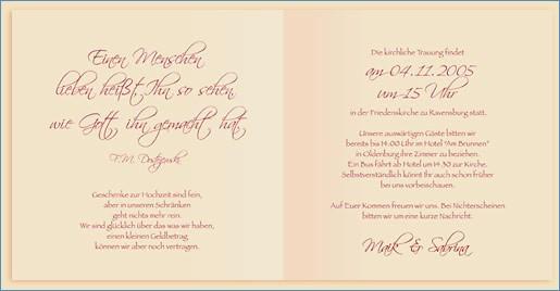 Texte Für Hochzeitskarten  Spruche Geldgeschenke Hochzeit Einladung – travelslow