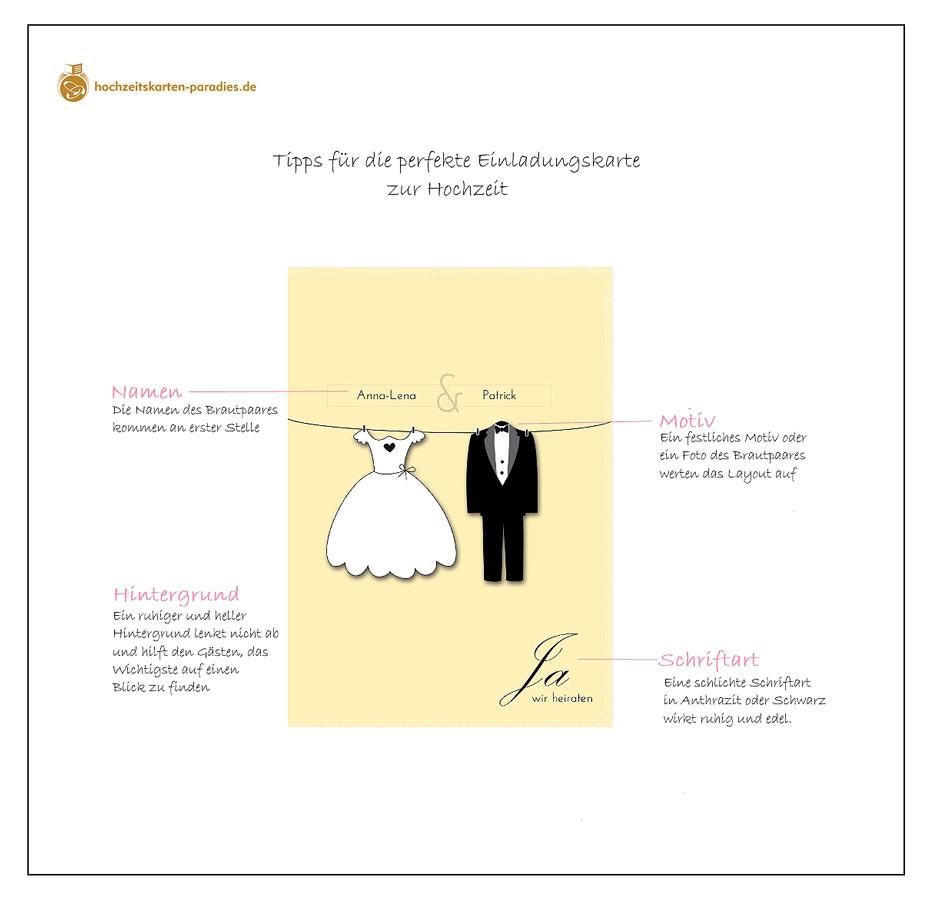 Texte Für Hochzeitskarten  Tipps zur Gestaltung der Einladungskarte zur Hochzeit – so