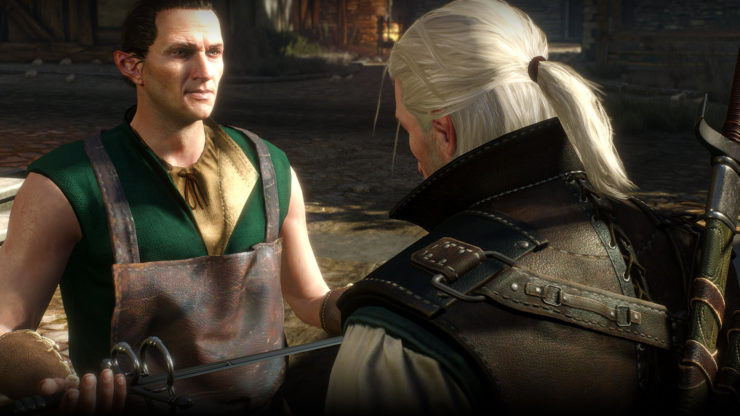 The Witcher 3 Frisuren  The Witcher 3 Wild Hunt Has a New Revamped Site Amazing