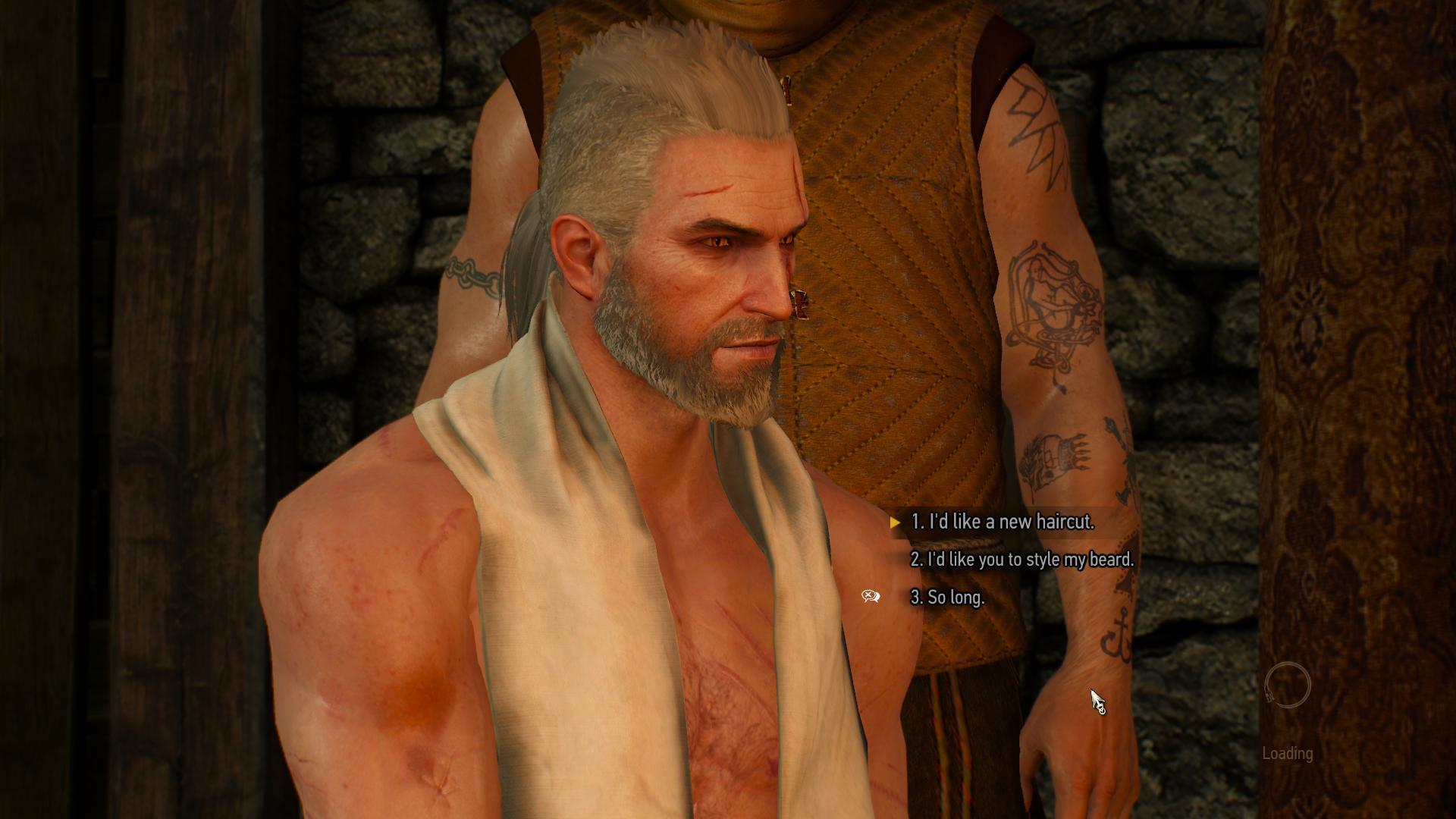 The Witcher 3 Frisuren  The Witcher 3 Frisuren und Bärte DLC int ent news