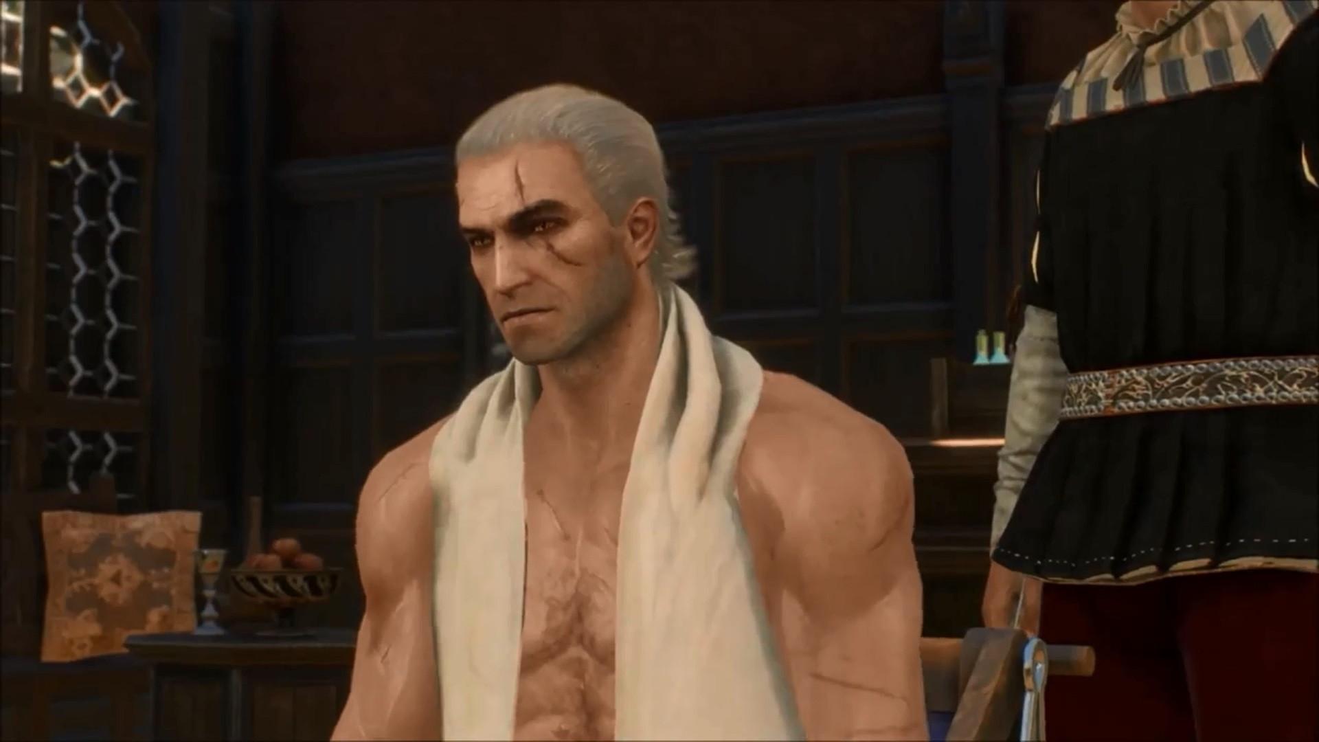 The Witcher 3 Frisuren  The Witcher 3 Frisuren und Bärte – Makeover für Geralt