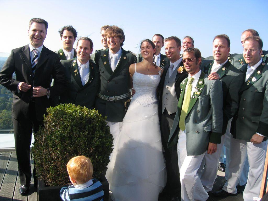 Thomas Gleiß Hochzeit  Schützenlustzug De Dolle Aktuelles