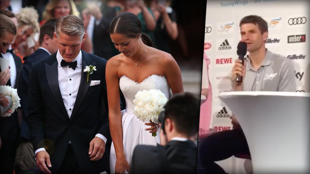 Thomas Müller Lisa Müller Hochzeit  Nach Schweini Hochzeit Müller gibt Ehe Tipps und erklärt