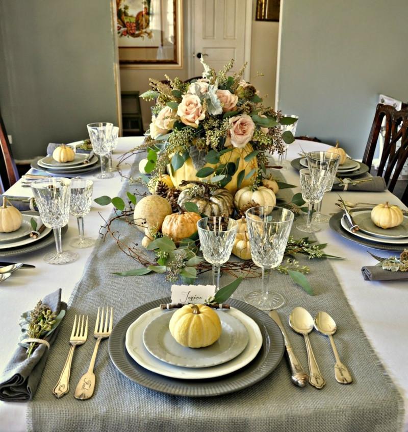 Tisch Decken  Tisch decken mit Sackleinen für jeden Anlass 24 Ideen