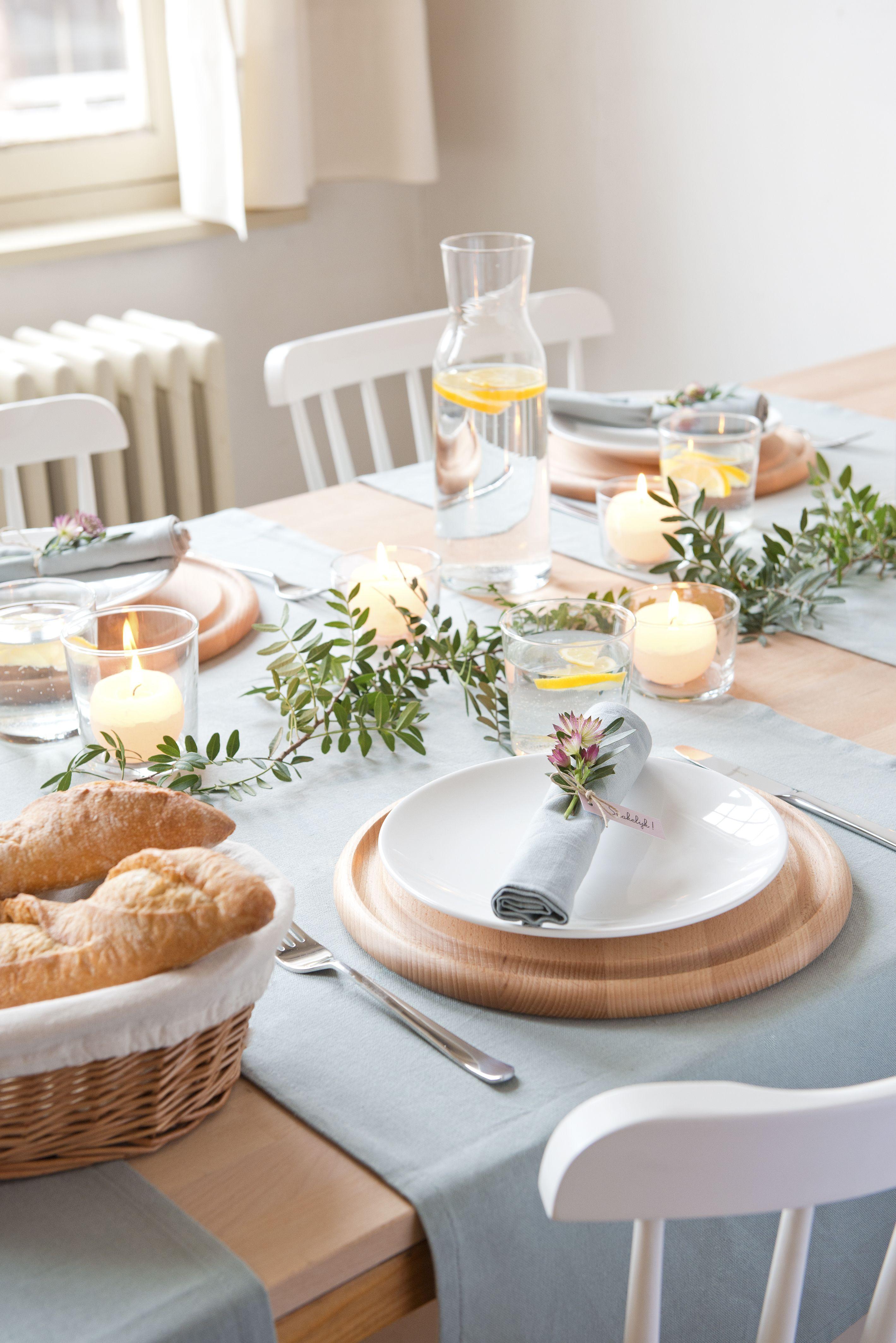 Tisch Decken  Tisch Festlich Decken – Wohn design