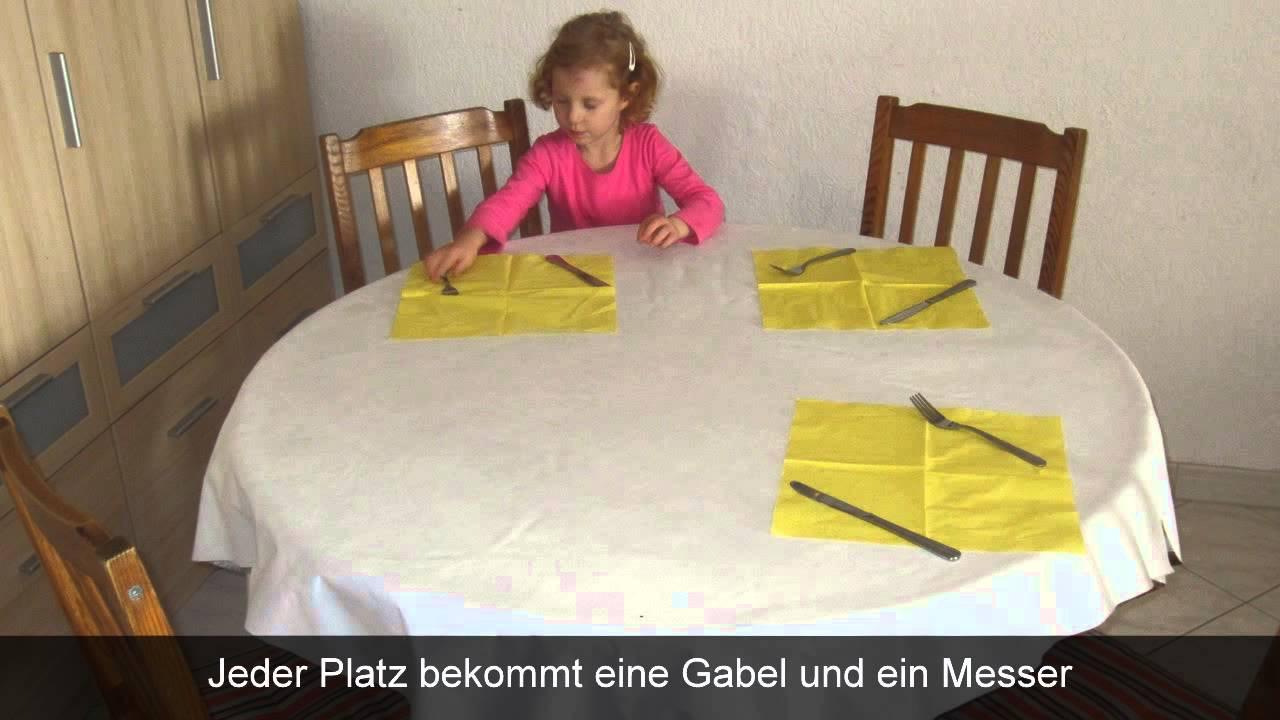 Tisch Decken  Tisch decken