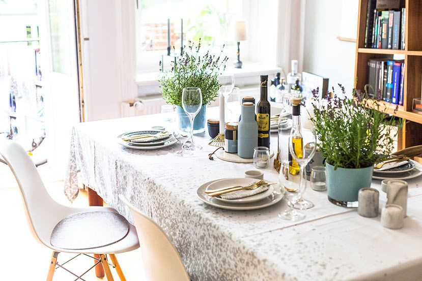 Tisch Decken  So geht Tisch decken Inspiration für eine hübsche Tafel
