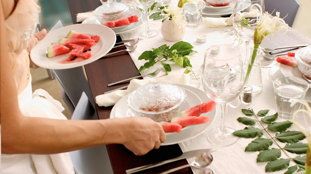 Tisch Decken  Tisch decken fünf Grundgedecke und zwölf Regeln beim